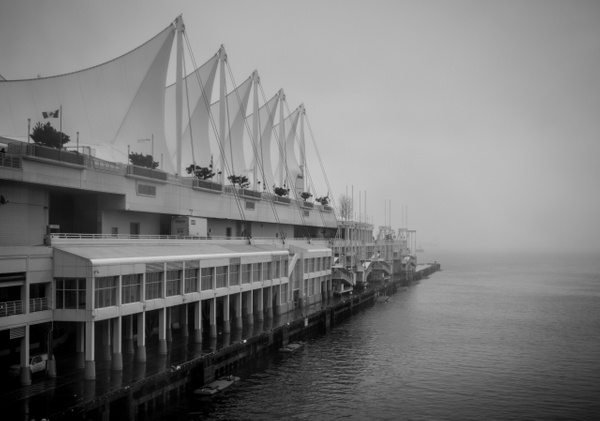 Canada Place in the Fog - Cityscape - McKinlay Photo