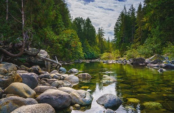 Sooke River - Landscape - McKinlay Photo