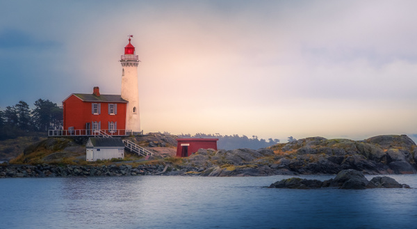 Fisgard Lighthouse - Landscape - McKinlay Photo
