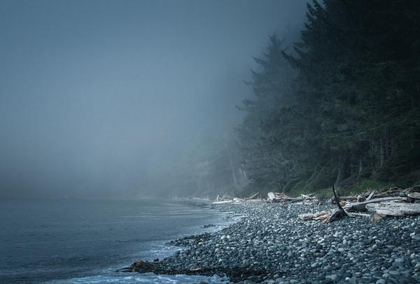 Fog on the Beach - Landscape - McKinlay Photo