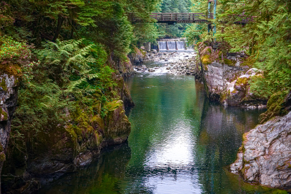 Over the Bridge - Landscape - McKinlay Photo