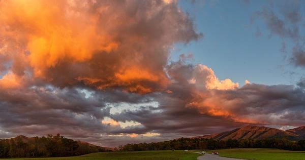 cades-cove-sunset - Landscapes - Walnut Ridge Photography