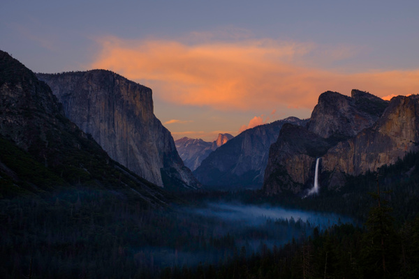 tunnel-view-sunset - AUTUMN (copy) - Walnut Ridge Photography