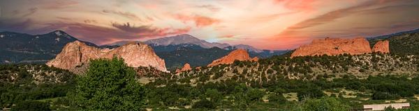 GardenoftheGodsSunset - Colorado - KDS Imagery Photography