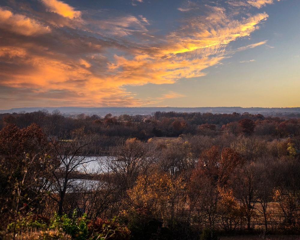 Kansas at Sunset