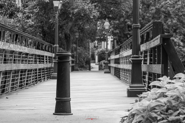 HP Footbridge Low BW (1 of 1) - Texas - KDS Imagery Photography