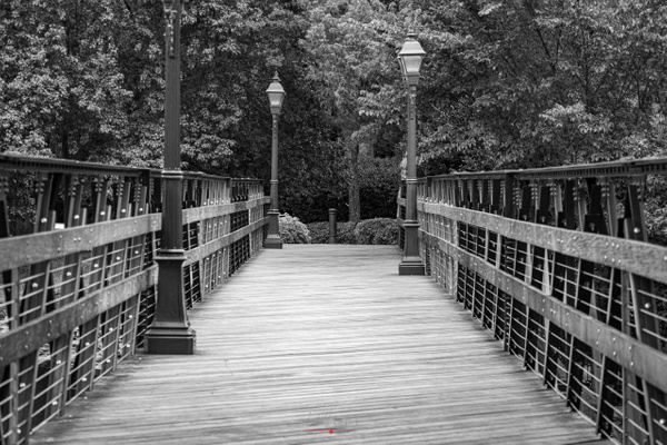 HP Footbridge BW (1 of 1) - Texas - KDS Imagery Photography