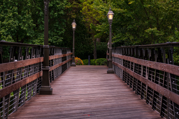HP Footbridge at dusk (1 of 1) - Texas - KDS Imagery Photography