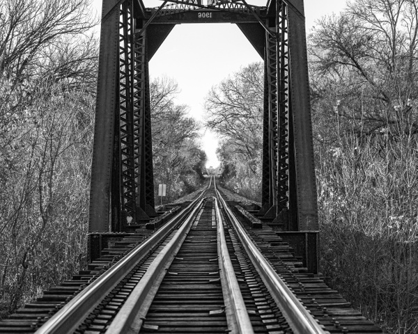 North St Bridge BW - Texas - KDS Imagery Photography
