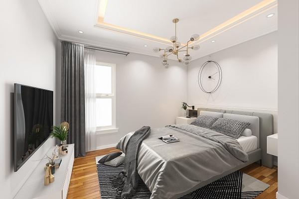 BedRoom1-after - Virtual Renovation - Stellar Real Estate Marketing
