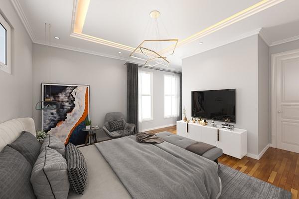 Master bedroom-after - Virtual Renovation - Stellar Real Estate Marketing