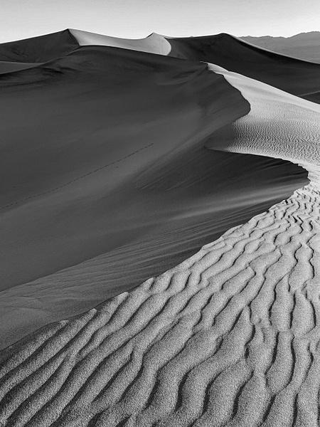 Death Valley_Mesquite Sand Dunes - Sand - Stan Pechner Photography