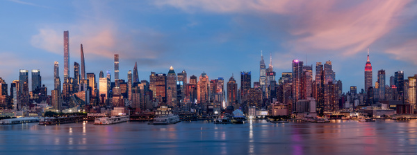 Midtown Manhattan and the Hudson River - Cityscape Photography - John Dukes Photography
