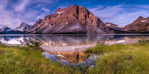 A-LN_Tim-Shields_Bow-Lake-Sunrise- - Landscapes - Tim Shields Landscape Photography
