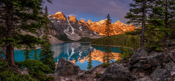 Alpine Glow - Tim Shields - Tim shields photography
