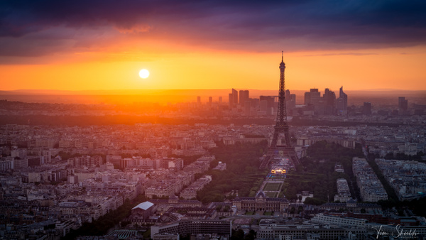 Tim-Shields Paris Aglow - Landscapes - Tim Shields Landscape Photography