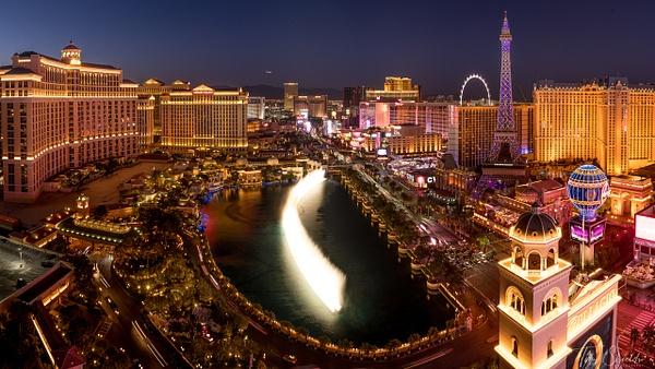 Las Vegas Skyline 9011 pano 4k - Cityscapes - Tim Shields Landscape Photography