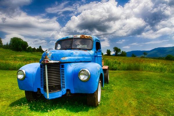 Daves Truck VT by Deb Uscilka