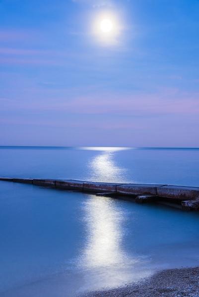 Blue Hour Lake Michigan - Milwaukee and Wisconsin - Jack Kleinman Photography
