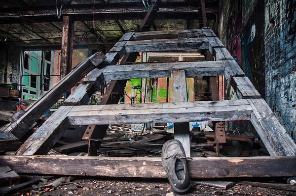 Abandoned Factory, Milwaukee - Milwaukee and Wisconsin - Jack Kleinman Photography