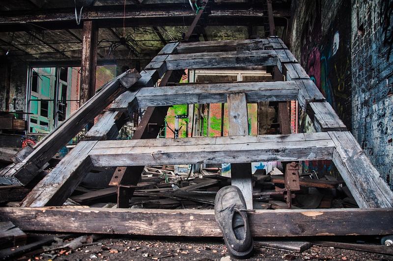 Abandoned Factory, Milwaukee