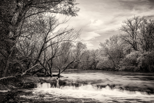 Milwaukee River Waterfall - Milwaukee and Wisconsin - Jack Kleinman Photography