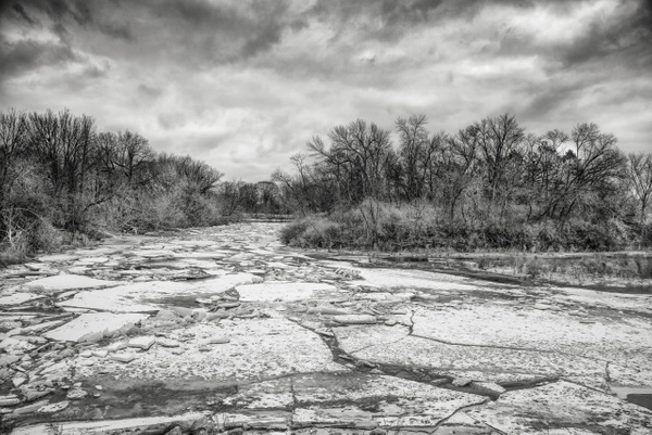 Milwaukee River Ice Jam by Jack Kleinman