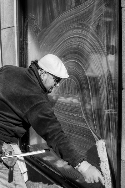 Pattern on Glass, Chicago - People - Jack Kleinman Photography