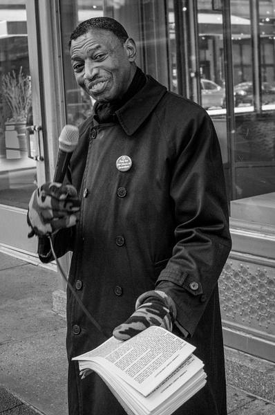 Preacher, Chicago - People - Jack Kleinman Photography