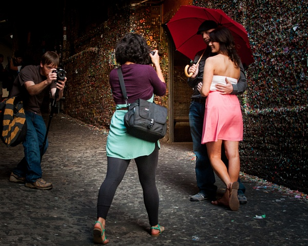 Metaphotography (Bubble Gum Wall), Seattle by Jack...