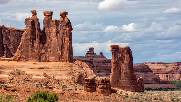 07. Arches N.P (4) Three Gossips - U.S. NATIONAL PARKS - September 2015 - François Scheffen Photography