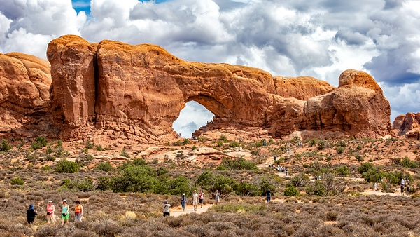 07. Arches N.P (6) South Window Arch - U.S. NATIONAL PARKS - September 2015 - François Scheffen Photography