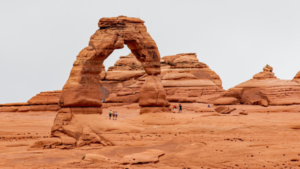 07. Arches N.P (8) Delicate Arch - U.S. NATIONAL PARKS - September 2015 - François Scheffen Photography