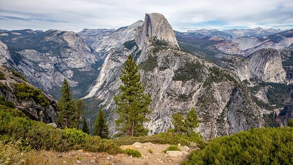 17. Yosemite N.P (3) Half Dome - U.S. NATIONAL PARKS - September 2015 - François Scheffen Photography