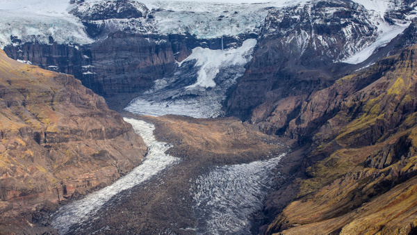 04. Fagurhólsmýri to Skaftafell - ICELAND - Aerial Views 2012 - François Scheffen Photography