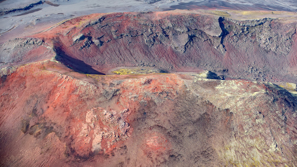15. fm Skaftafell to Lakagígar - ICELAND - Aerial Views - François Scheffen Photography