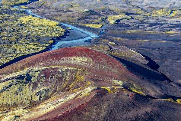 19. Lakagígar - ICELAND - Aerial Views 2012 - François Scheffen Photography