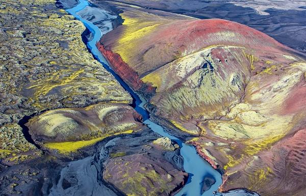 20. Lakagígar - ICELAND - Aerial Views 2012 - François Scheffen Photography