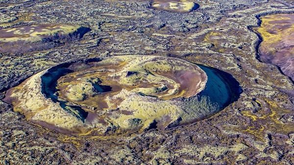 21. Lakagígar - ICELAND - Aerial Views 2012 - François Scheffen Photography
