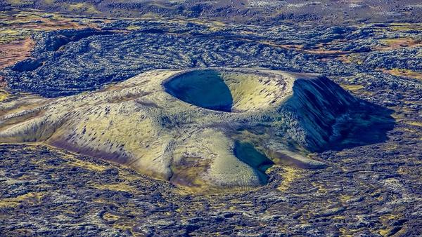 22. Lakagígar - ICELAND - Aerial Views 2012 - François Scheffen Photography