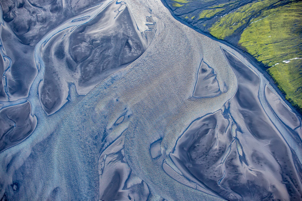 34. fm Lakagígar to Landmanna laugar - ICELAND - Aerial Views - François Scheffen Photography