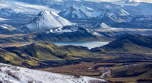 37. Landmanna laugar - ICELAND - Aerial Views - François Scheffen Photography