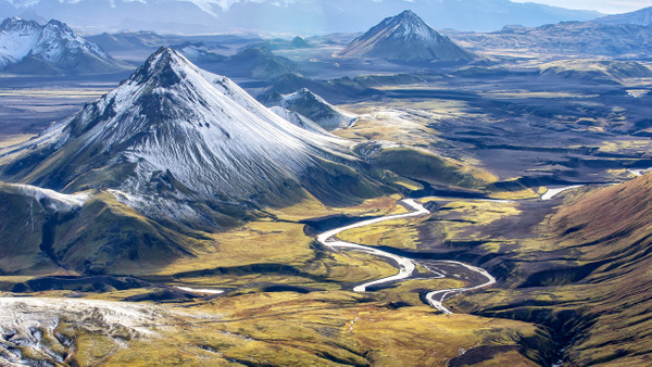 39. Landmanna laugar - ICELAND - Aerial Views - François Scheffen Photography