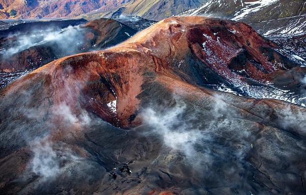 42.  volcano Eyjafjallajökull - ICELAND - Aerial Views 2012 - François Scheffen Photography