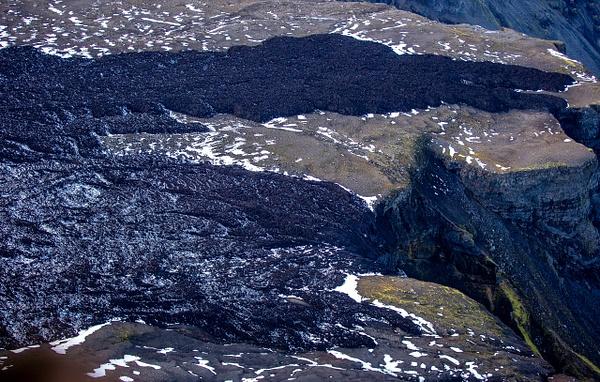 43. volcano Eyjafjallajökull - ICELAND - Aerial Views 2012 - François Scheffen Photography