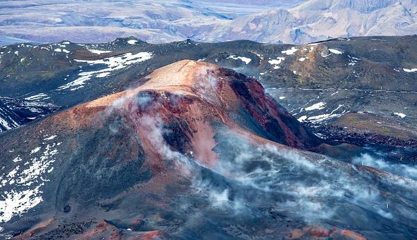 45. volcano Eyjafjallajökull - ICELAND - Aerial Views - François Scheffen Photography