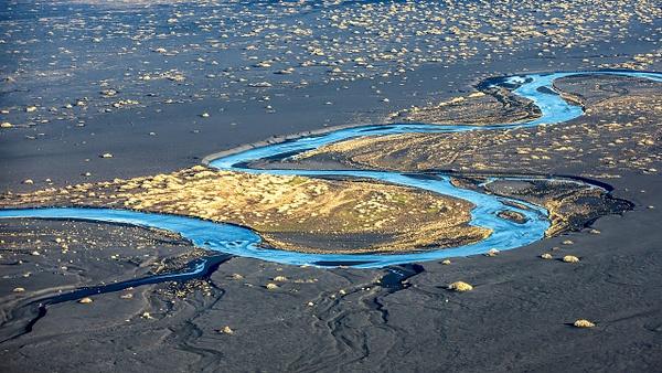 48. fm Vík to Svínafellsjökull - ICELAND - Aerial Views - François Scheffen Photography