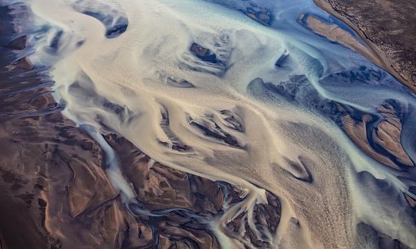 51. fm Vík to Svínafellsjökull - ICELAND - Aerial Views 2012 - François Scheffen Photography