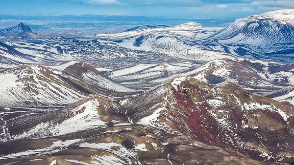 59. fm Vatnafjöll to Langjökull - ICELAND - Aerial Views - François Scheffen Photography