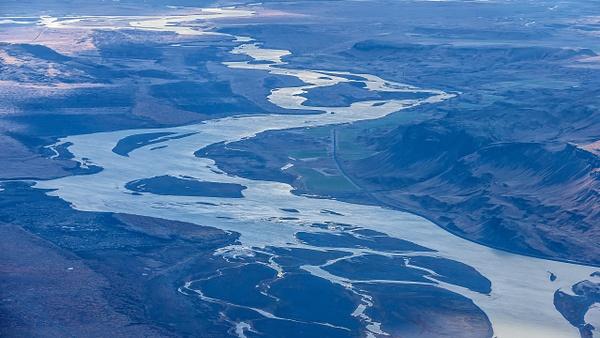 67. fm Vatnafjöll to Langjökull - ICELAND - Aerial Views - François Scheffen Photography